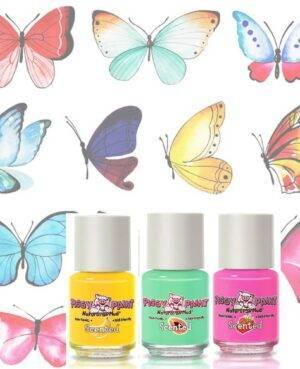 Butterfly Scented Nail Polish – Gift Set